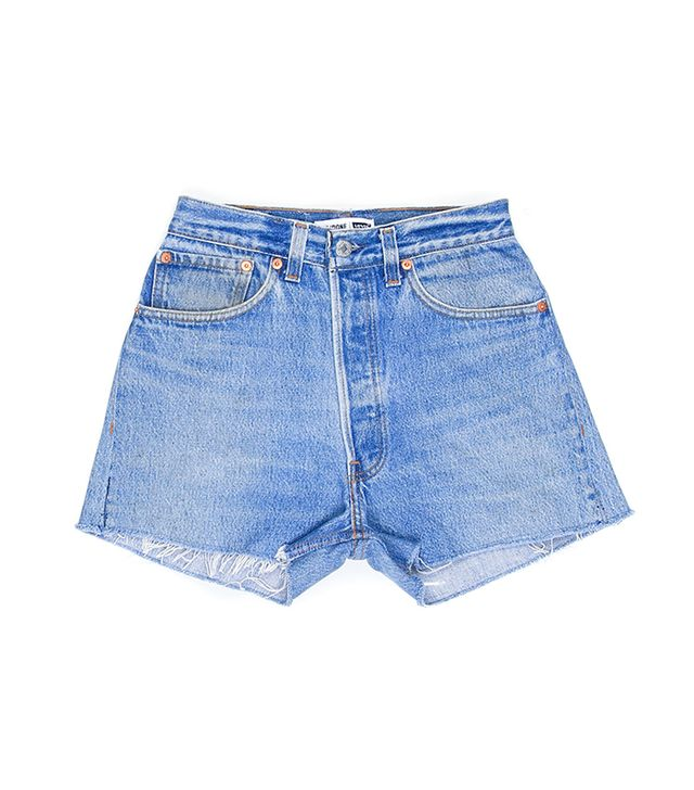 Re/Done Levi's High Rise Short