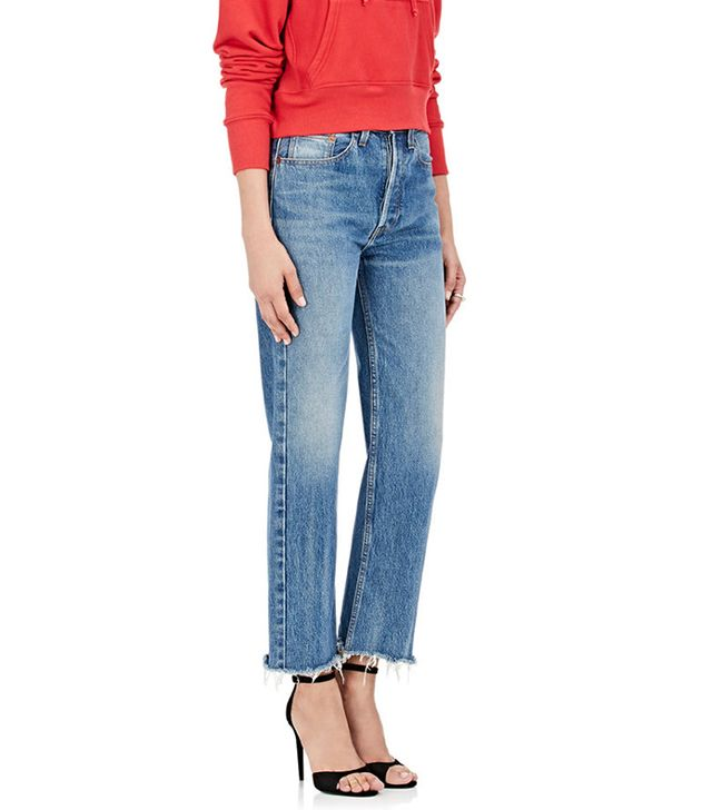Women's High Rise Stovepipe Jeans