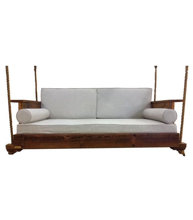 Four Oak Designs The R&R Reclaimed Wood Swing Bed