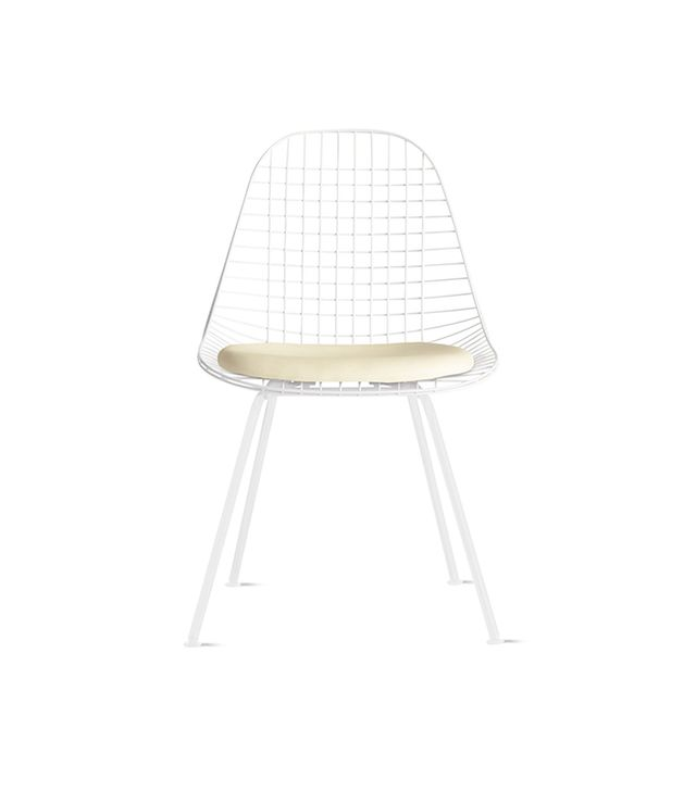 Herman Miller Eames 4-Leg Wire Chair With Seat Pad