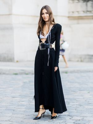 The Outfits Fashion Girls Are Wearing in Paris Right Now
