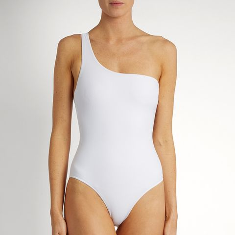 Apex One-Shoulder Swimsuit