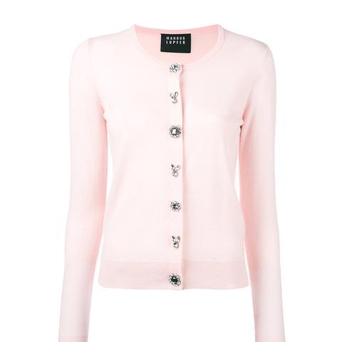 Jewel Button Cardigan