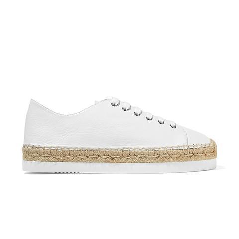 Orlanda Leather Espadrille Sneakers