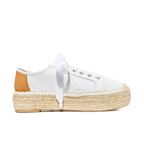 Eze Leather Espadrille Sneakers