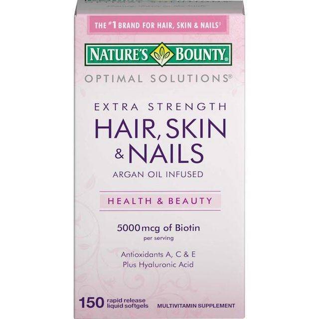 Nature's Bounty Hair, Skin, & Nails Multivitamin Supplement