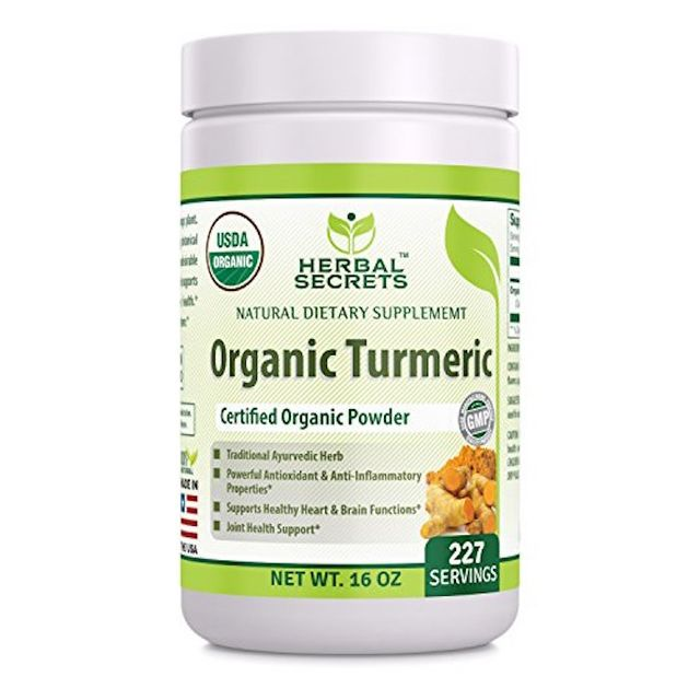Herbal Secrets Organic Turmeric Powder