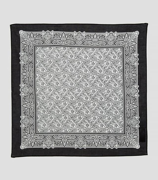 Paisley Print Bandana & Headscarf
