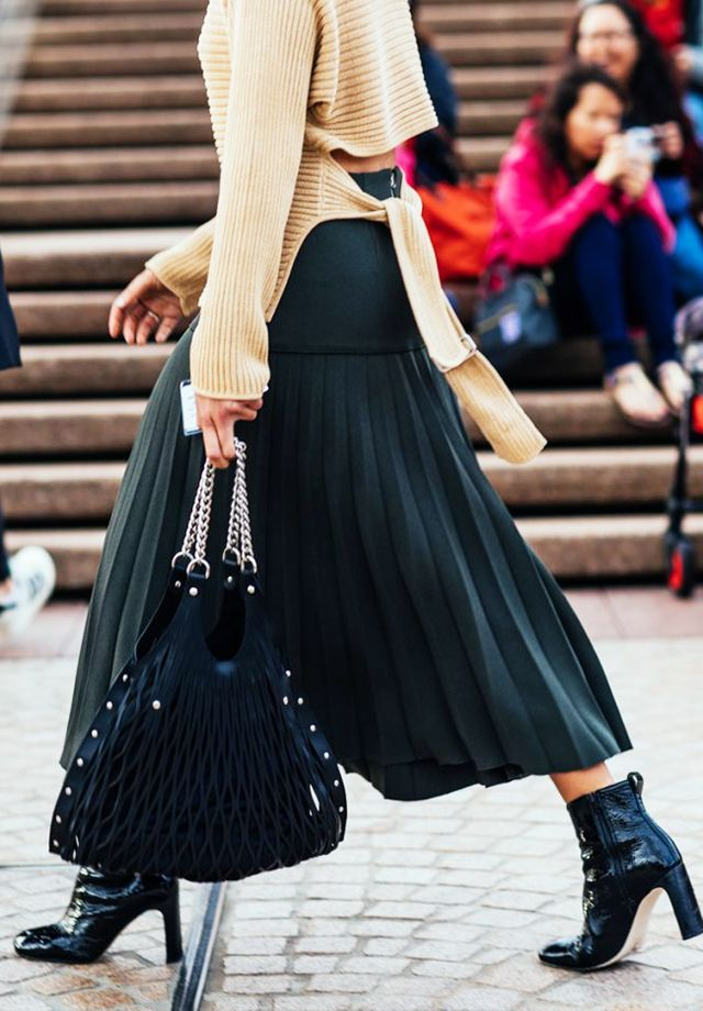 Jumper and Midi Skirt Trend