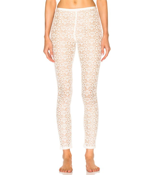 Cotton Lace Leggings