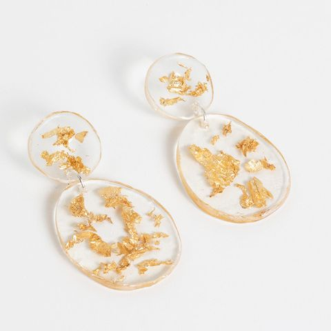 Lunar Double Drop Earrings