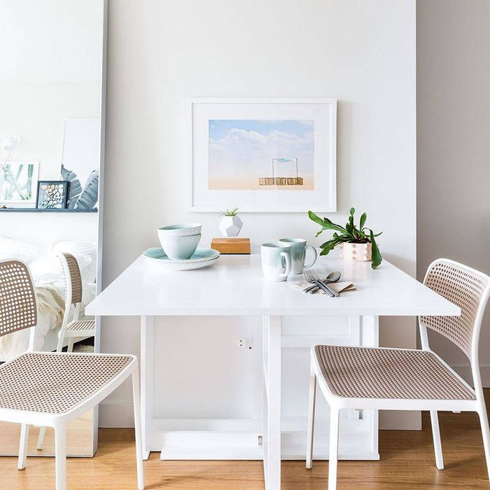 4 small–dining room ideas we're kind of obsessed with   mydomaine Compact Dining Table Ideas