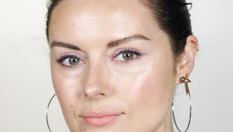 60-Second Beauty: Periwinkle, Summer's Most Flattering Liner Look