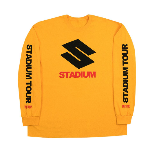Justin Bieber Stadium Tour Shirt
