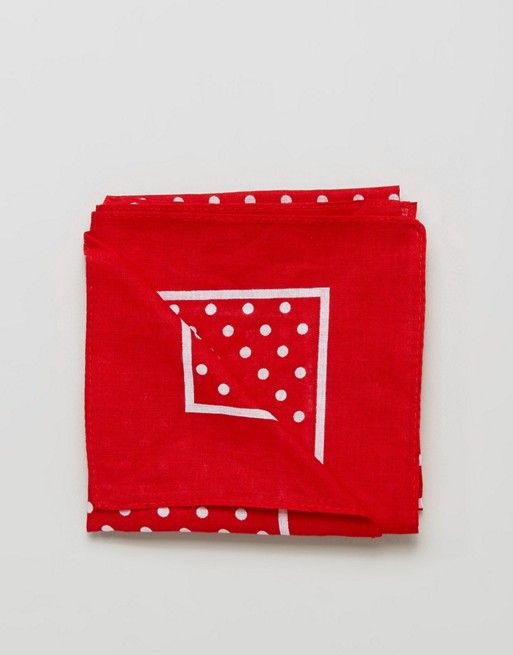 ASOS Red Bandana