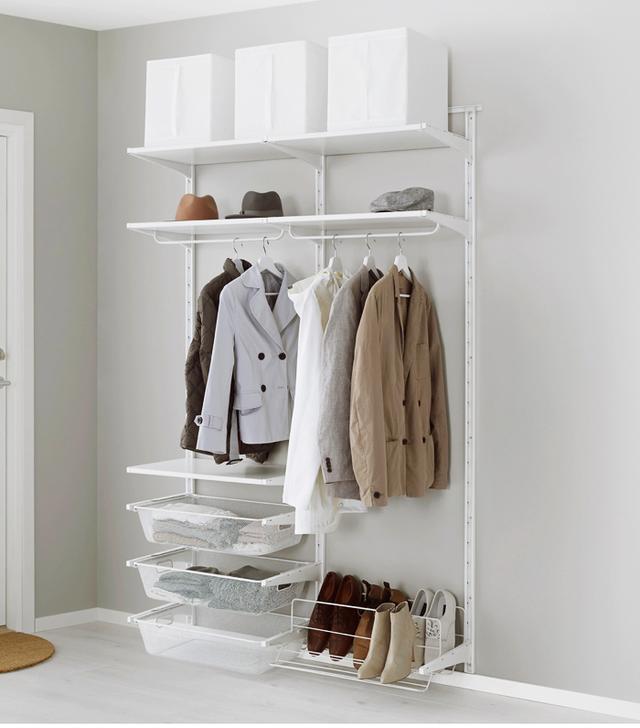IKEA closets: IKEA Algot Wall Upright Wardrobe