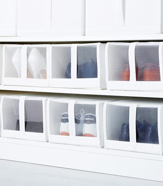 IKEA closets: IKEA Skubb Shoe Box