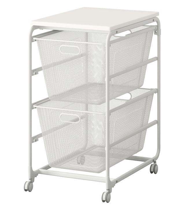 IKEA closets: IKEA Algot Frame Mesh Baskets
