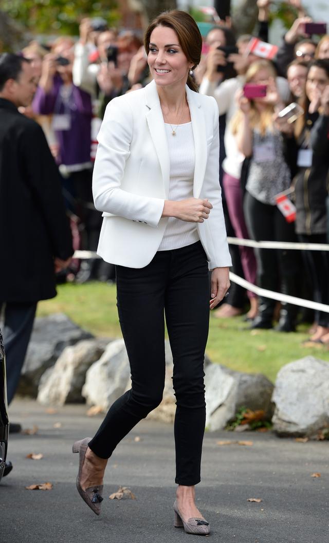 Kate Middleton Wearing Zara and J.Crew