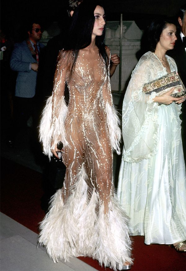 Style Notes: The iconic naked dress that Kim Kardashian West paid homage to with her 2015 Met Gala gown.