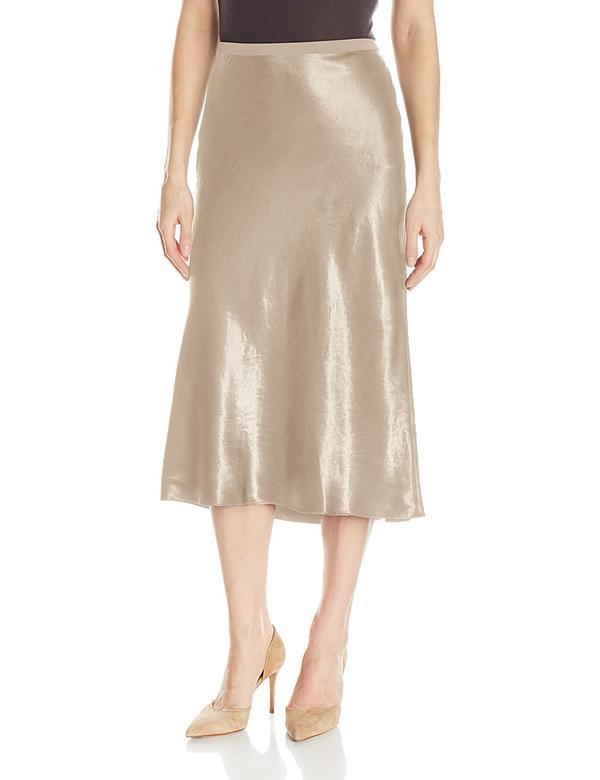 Women's Elastic Slip Skirt, Coastal Blue, XS
