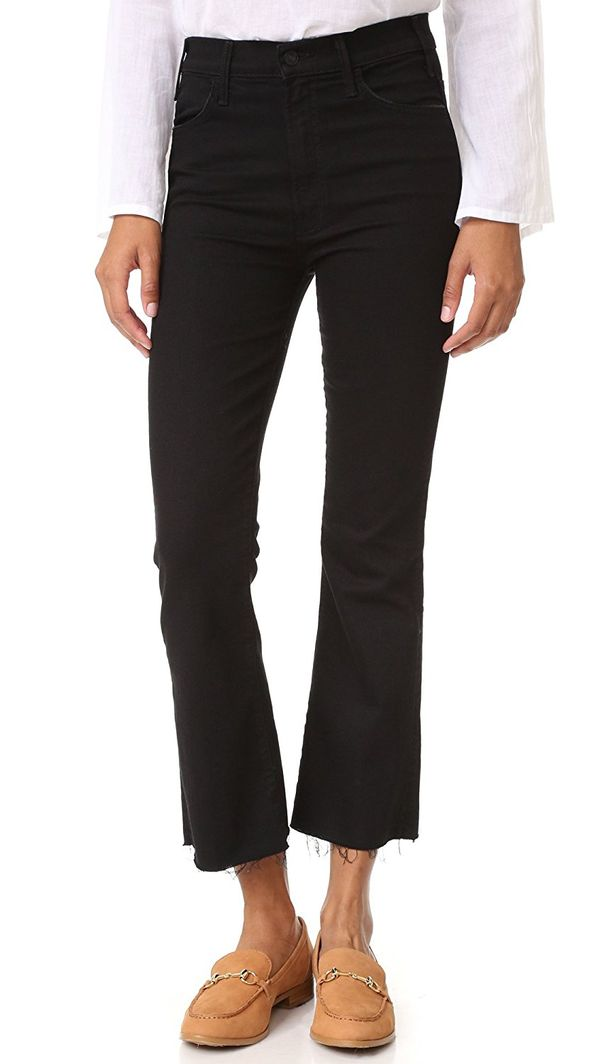 MOTHER Women's The Hustler Ankle Fray Jeans