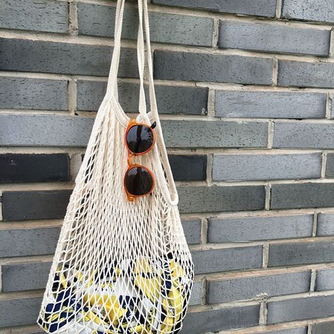 Cotton Net Shopping Tote Ecology Market String Bag