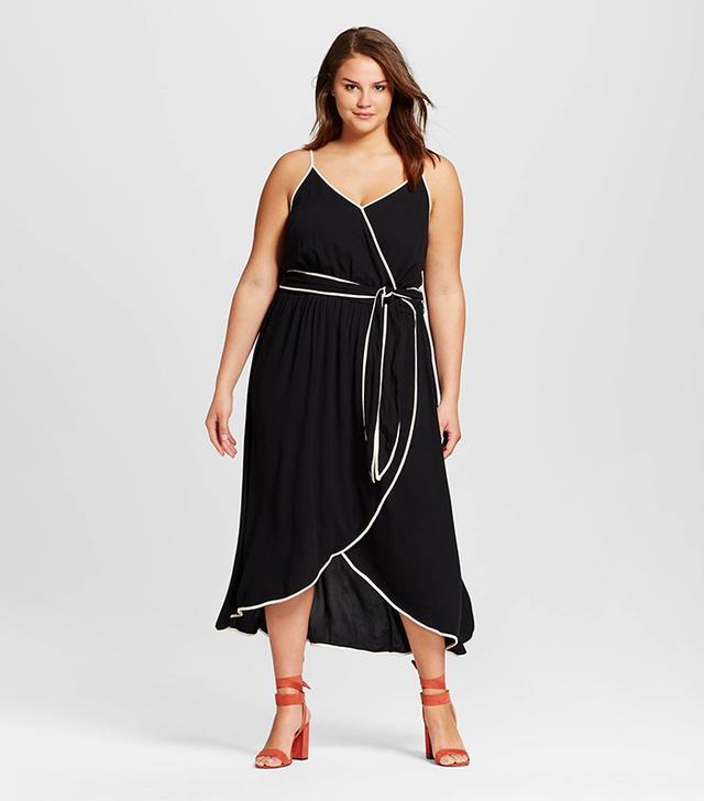Women's Plus Size Wrap Dress