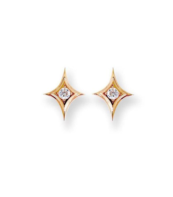 diamond sparkle stud earrings
