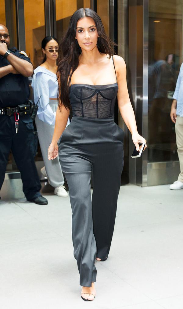 kim kardashian west's style  whowhatwear