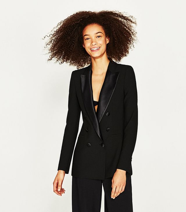 Zara Double Breasted Frock Coat