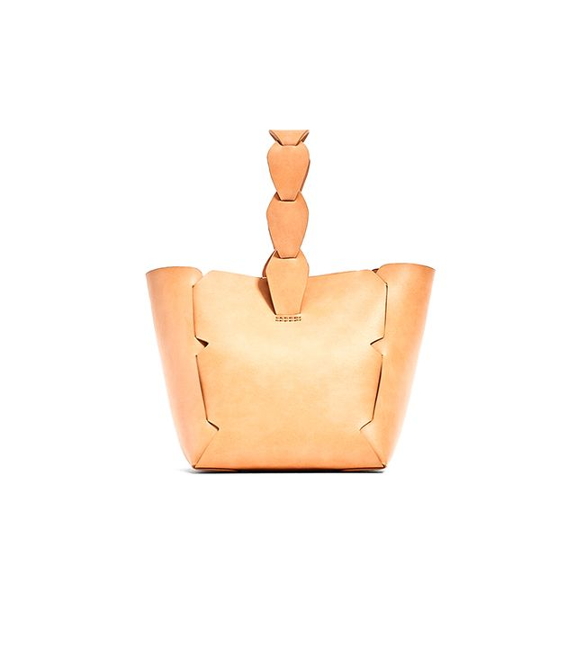 MINI GEOMETRIC BUCKET BAG