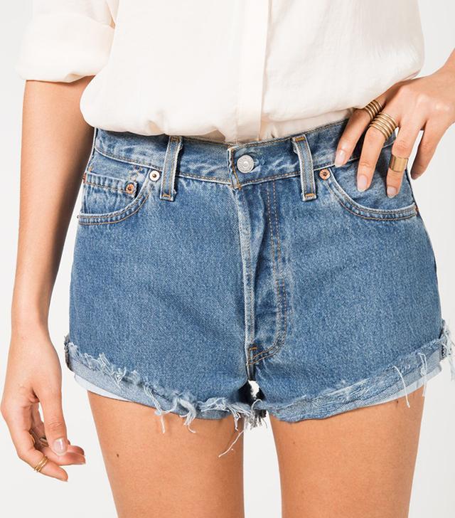 Vintage Levi's 501 Boyfriend Shorts