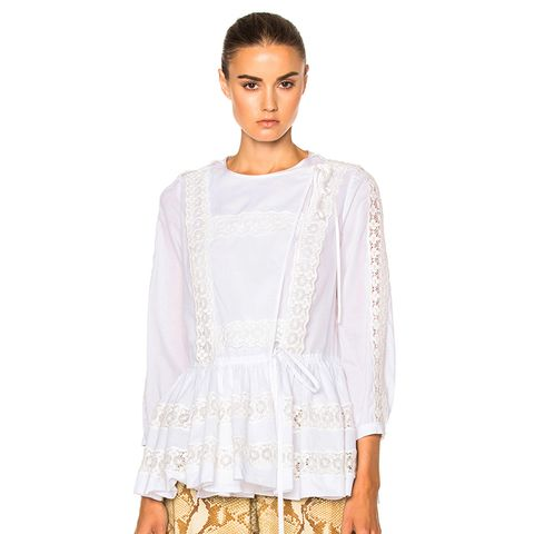 Light Crepon Blouse
