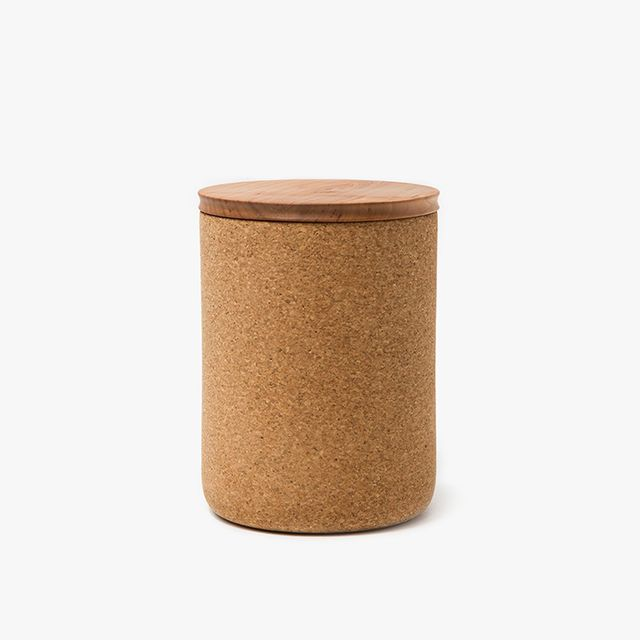 Large Cork + Cherry Canister