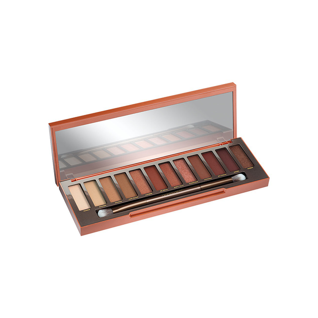 urban decay naked heat palette - summer makeup trends