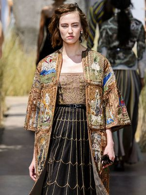 1500 Hours Later, This Dior Tarot Card Coat Came to Life