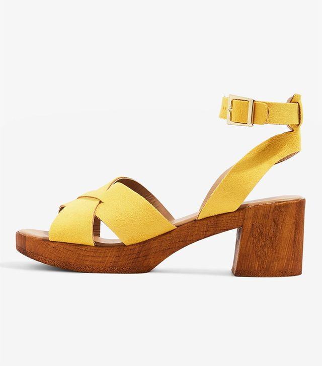 DOLLY Two Part Sandals