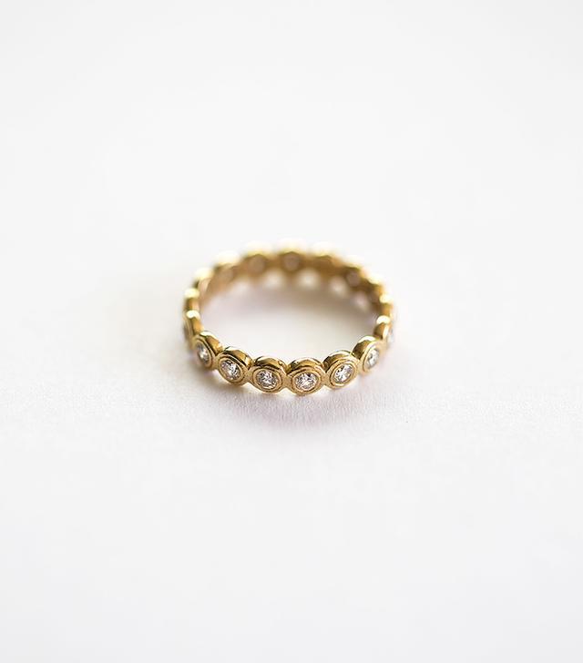 Octavia Elizabeth Diamond Nesting Gem Eternity Ring