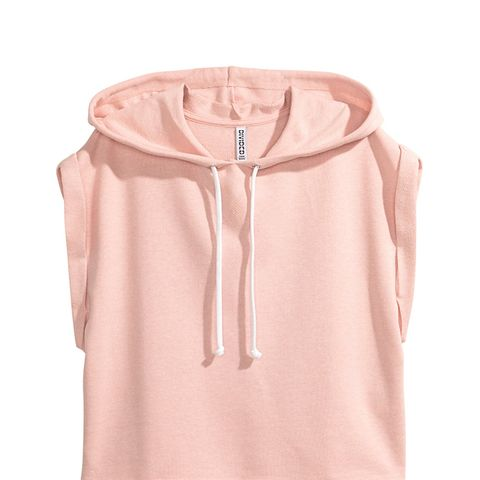 Sleeveless Hooded Sweatshirt