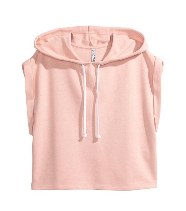 short sleeve hoodie