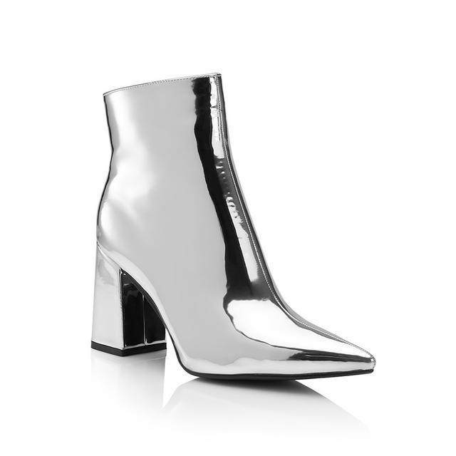 Sportsgirl Flash Metallic Boot