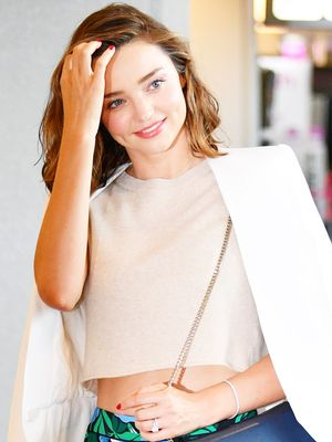 Miranda Kerr's Perfect Airport Outfit Is Straight From a Mall Brand
