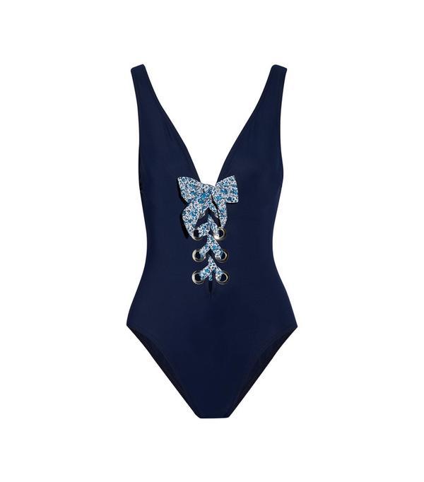 Iris Lace-up Swimsuit