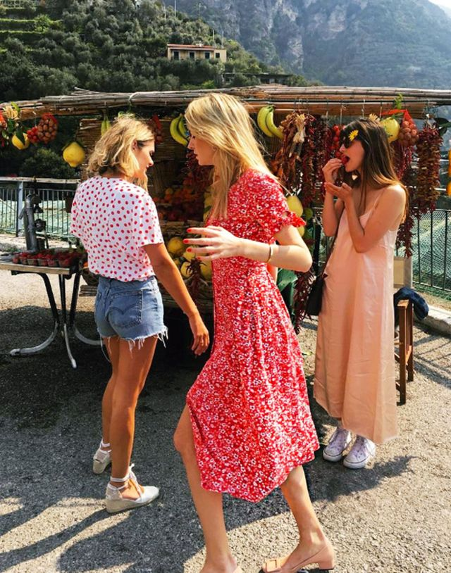 New cult fashion brands 2017: Camille Charriere wearing Rouje