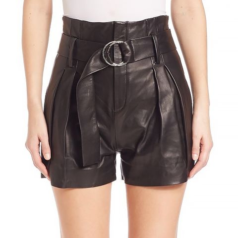 Metz Leather Shorts