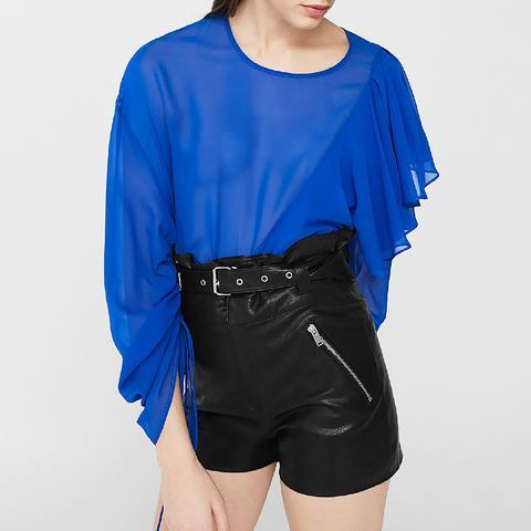 Zipped Belt Shorts