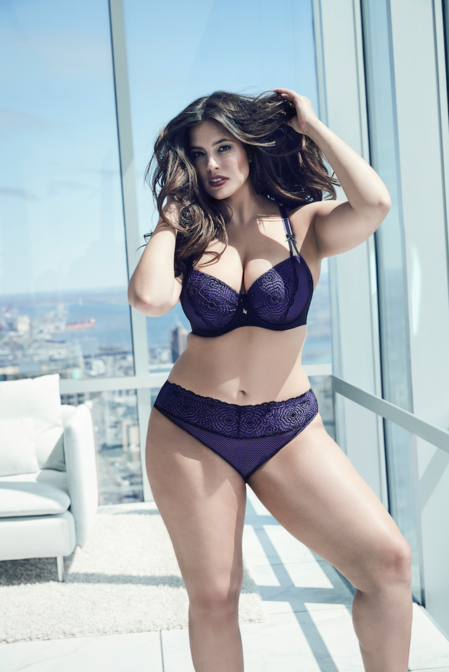 Addition Elle Ashley Graham Showstopper Balconnet Bra