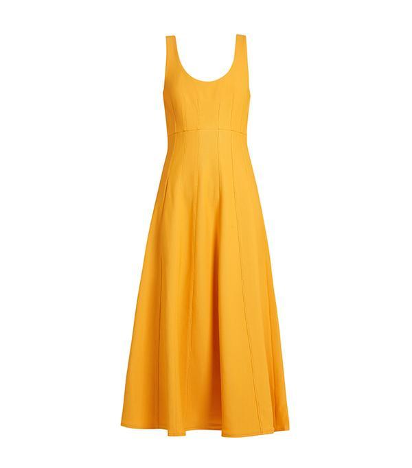 Corset Knit Structured Dress
