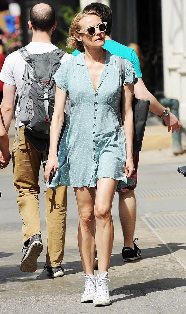 Diane Kruger summer style